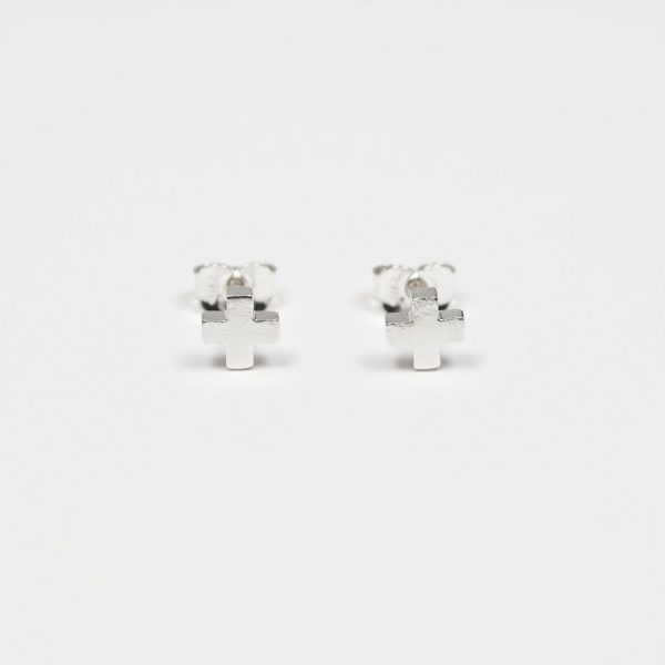 Silver Earrings GRAD X